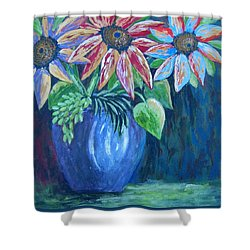 These Are For You Shower Curtain by Suzanne Theis