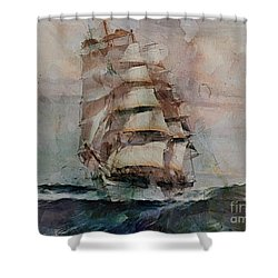 Thessalus Shower Curtain