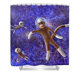 They Came From Outer Space Shower Curtain