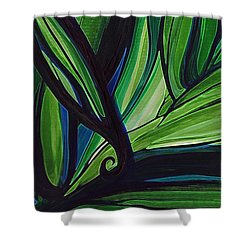 Thicket Shower Curtain by First Star Art
