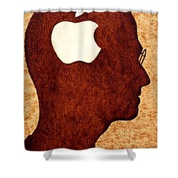 Think Different Tribute To Steve Jobs Shower Curtain