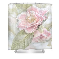 Shower Curtain featuring the photograph Think Pink by Peggy Hughes