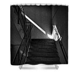 Third Floor Shower Curtain by Bob Orsillo