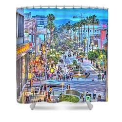 Third Street Promenade Shower Curtain