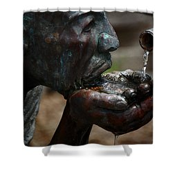 Shower Curtain featuring the photograph Thirst Quencher by Leticia Latocki
