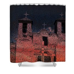 Shower Curtain featuring the digital art This  by Cathy Anderson
