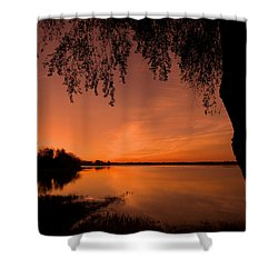 Shower Curtain featuring the photograph This Is A New Day ... by Juergen Weiss