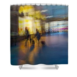 Shower Curtain featuring the photograph This Is How We Roll by Alex Lapidus