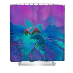 This Is Not Just Another Flower - Bpb02 Shower Curtain by Variance Collections