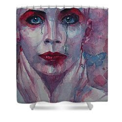 This Is The Fear This Is The Dread  These Are The Contents Of My Head Shower Curtain by Paul Lovering