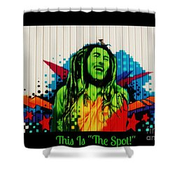 This Is The Spot Shower Curtain