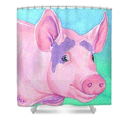 This Little Piggy Shower Curtain
