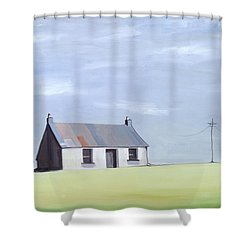 This Old House Shower Curtain by Ana Bianchi