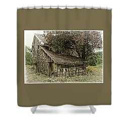 This Old House Shower Curtain by Thom Zehrfeld