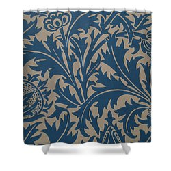 Thistle Design Shower Curtain by William Morris