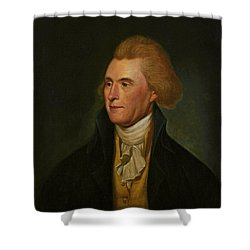 Thomas Jefferson Shower Curtain by Charles Wilson Peale