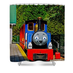 Shower Curtain featuring the photograph Thomas by Sher Nasser