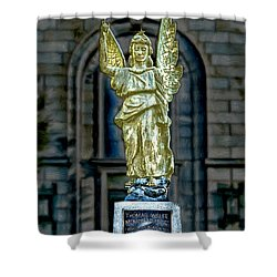 Thomas Wolfe Memorial Angel Shower Curtain