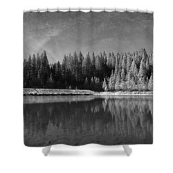 Those Days Are Gone Shower Curtain by Laurie Search