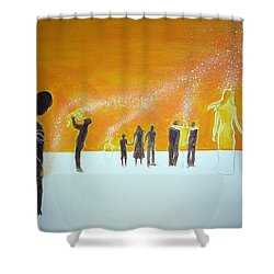 Those Who Left Early Shower Curtain