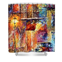Thoughts Of My Ancestors  Shower Curtain by Leonid Afremov