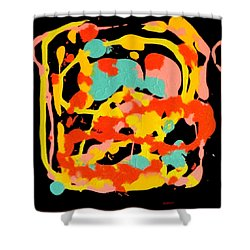 Three Carnival Shower Curtain