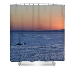 Shower Curtain featuring the photograph Three Dreams by Steven Sparks