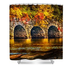 Three Tunnels Shower Curtain by Bob Orsillo
