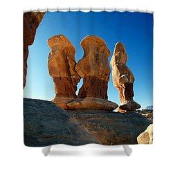 Devil's Garden Three Wise Men 24  Shower Curtain