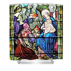 Three Wise Men - Visitation Of The Magi Shower Curtain