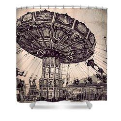 Thrill Rides Shower Curtain