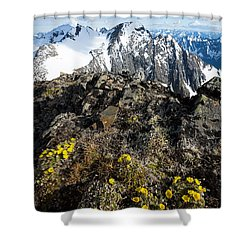 Thriving In Adversity Shower Curtain