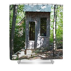 Throne With A View Shower Curtain