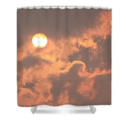 Through The Smoke Shower Curtain by Melanie Lankford Photography
