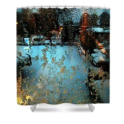 Through The Window Shower Curtain by Colette V Hera  Guggenheim