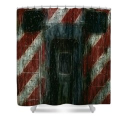 Through The Window On A Rainy Day In May Shower Curtain by Jack Zulli
