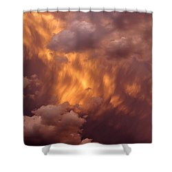Thunder Clouds Shower Curtain