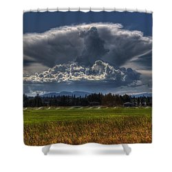 Thunder Storm Shower Curtain