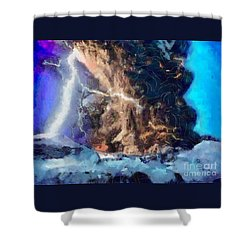 Thunder Struck Shower Curtain