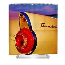 Thunderbird Shower Curtain by Daniel Thompson