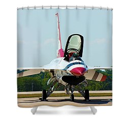 Thunderbird No1 Shower Curtain