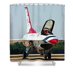 Thunderbird No2 Shower Curtain