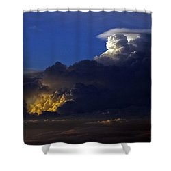 Shower Curtain featuring the photograph Thunderstorm II by Greg Reed