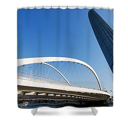 Tianjin City Shower Curtain