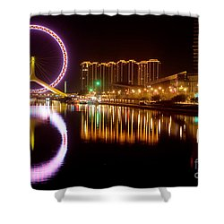 Tianjin Eye Shower Curtain