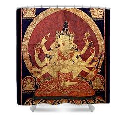 Tibetan Art Shower Curtain