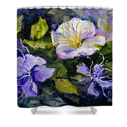 Tibouchina Shower Curtain