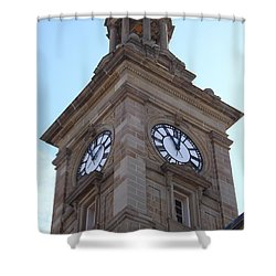 Tick Tock Shower Curtain