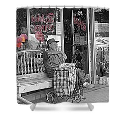 Shower Curtain featuring the photograph Tickled Pink by Bartz Johnson