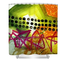 Tidal 15 Shower Curtain by Jane Davies